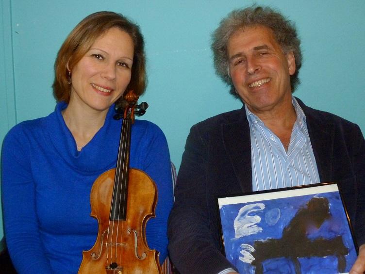 Marcel Worms en Ursula Schoch
